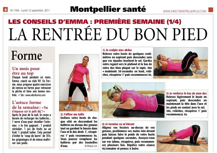 presse 2011 -12 Septembre - Direct Montpellier Plus